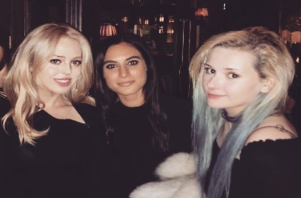 After Abigail Breslin posted a photo of herself with friends, including  Tiffany Trump, at pal Andrew Warren'sbirthday party on Instagram, ...